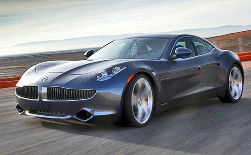 Fisker Karma electric vehicle