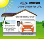 Ford and SunPower  team up to provide a high-efficiency rooftop solar system that will provide Focus Electric owners enough renewable energy production to offset the energy used for charging.